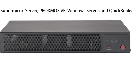 QuickBooks Hosted Proxmox
